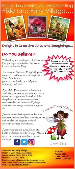 The Pixie and Fairy Village in Jacobs Bay